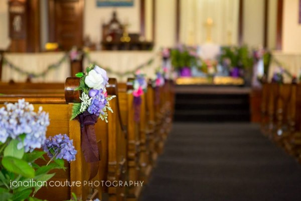 Pew Decorations Richmond Congregational Church