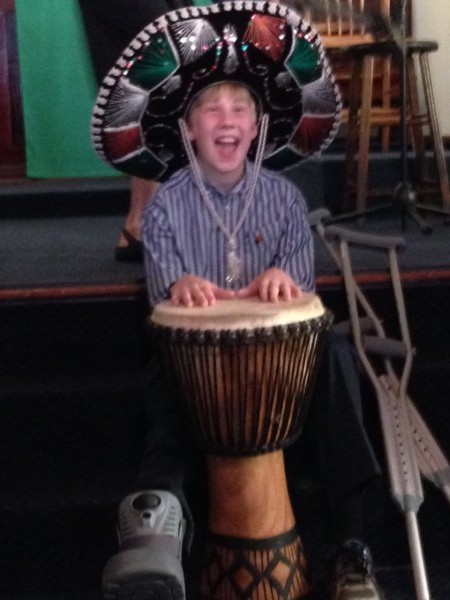Wanted: Percussionists to accompany music in church