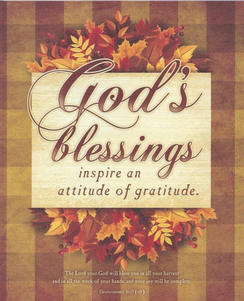 Stewardship & Thanksgiving Sunday 11.22.20