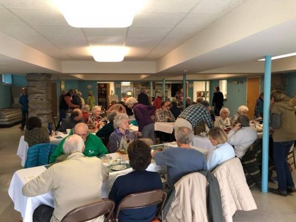 Community Senior Center Lunch a success!