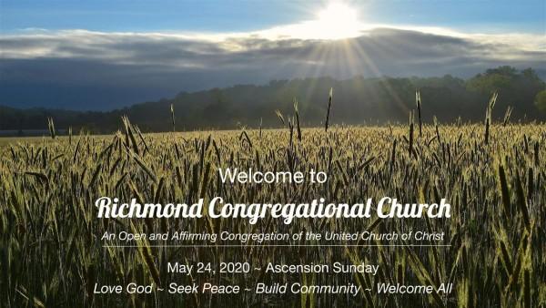 Sunday Worship 5.24.20