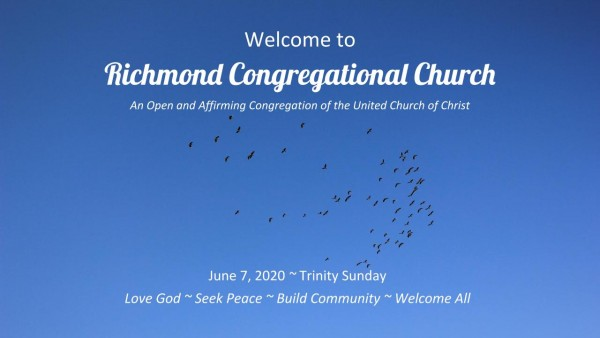 6.7.20 Sunday Worship Service