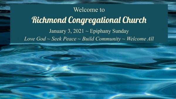 Sunday Worship 1/10/21