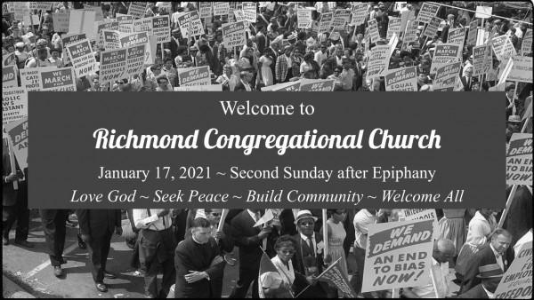 Sunday Worship 1/17/21