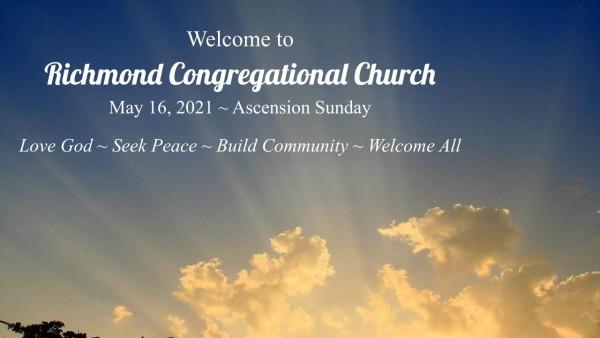 Sunday Worship 5.16.21