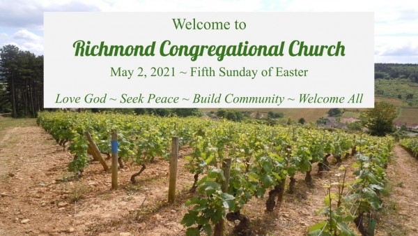 Sunday Worship – May 2, 2021