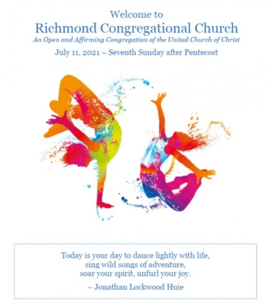 Worship Bulletin 7.11.21